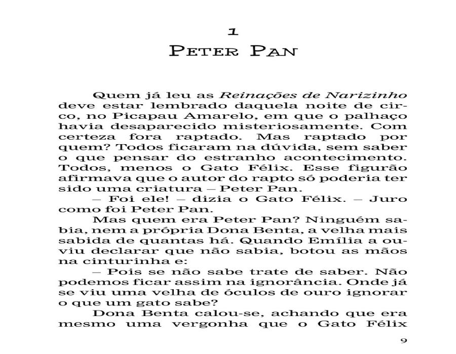 PETER PAN - Monteiro Lobato - L&PM Pocket - A maior coleção